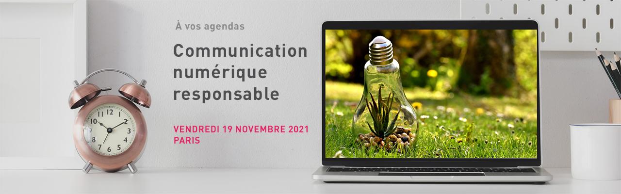 Communication numérique responsable – 19 novembre 2021